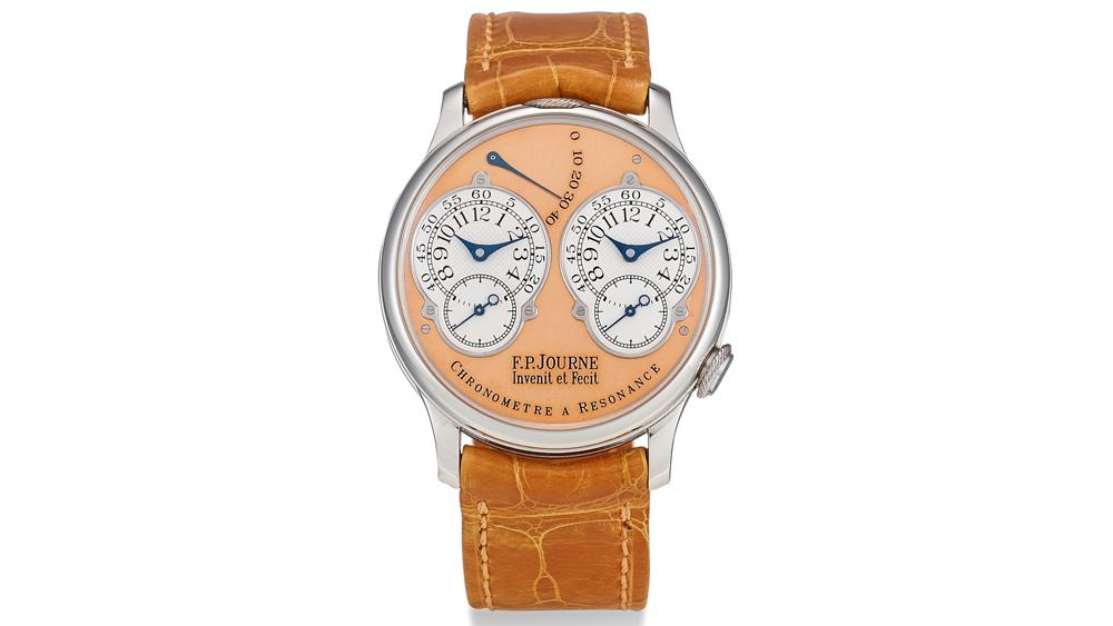 Sotheby's Lot 83 F.P. Journe Chronomètre à Résonance