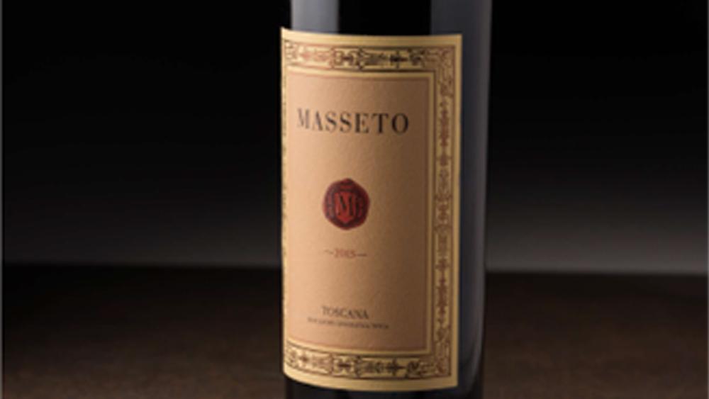 wine italy merlot Masseto 2015