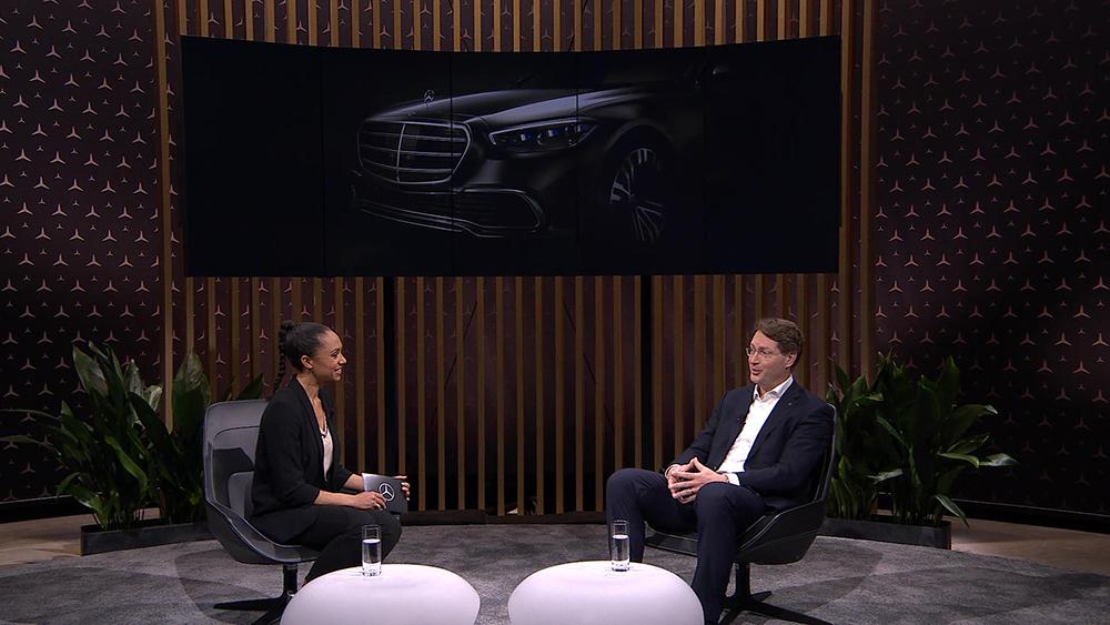 Meet Mercedes Digital with Yasmine Blair and Ola Källenius
