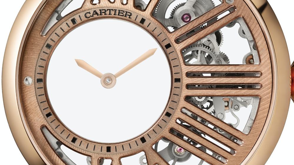Rotonde de Cartier Mysterious Hour Skeleton
