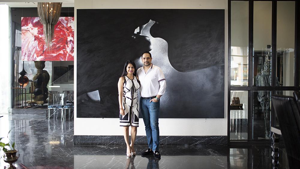 Collectors Nadia And Rajeeb Samdani S Dhaka Home Boasts 2 000 Artworks Robb Report