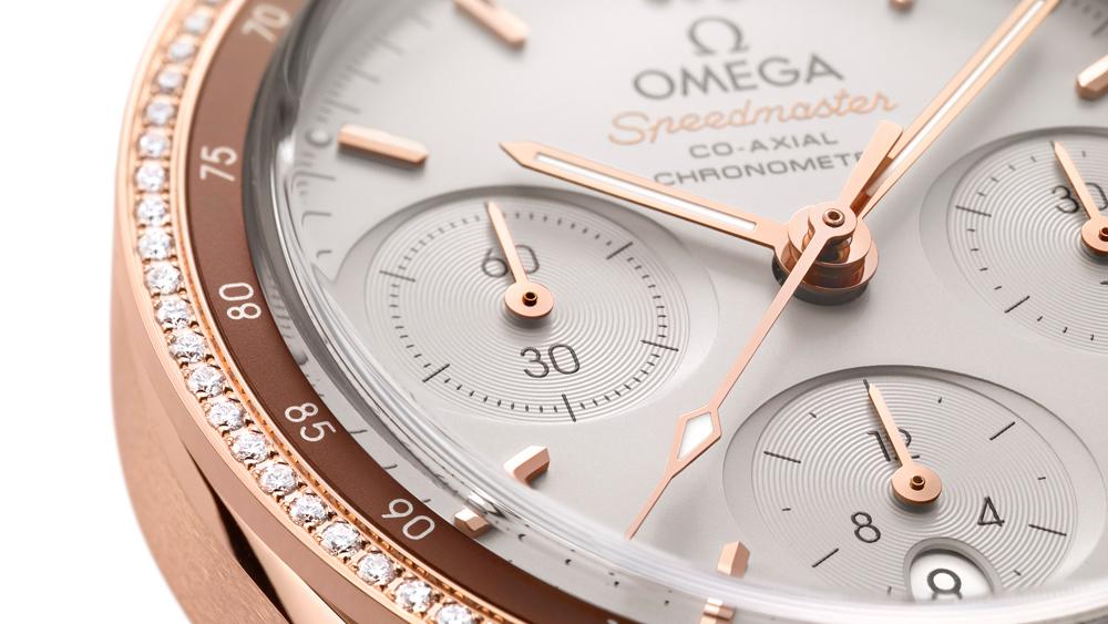 Omega 38 mm Ladies Speedmaster Dial