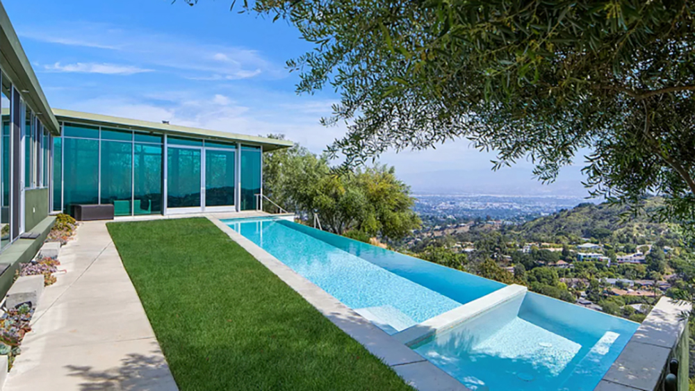 Pharrell Williams Hollywood Hills Home