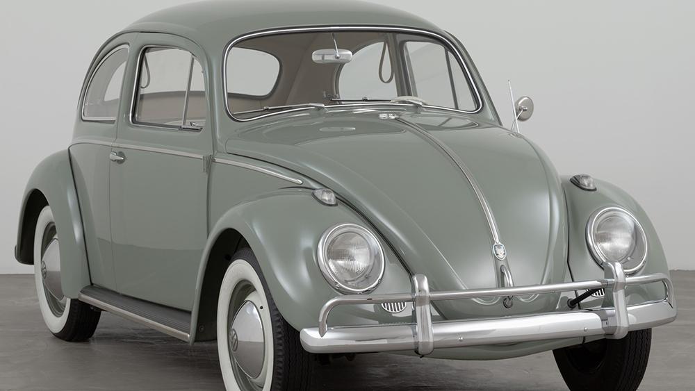 1959 version of Ferdinand Porsche's Volkswagen Type 1 Sedan