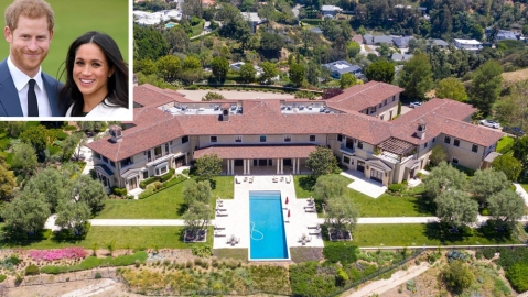 Prince Harry Meghan Markle Beverly Hills Home