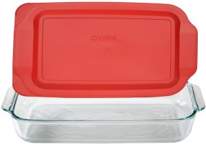 Pyrex Basics Glass Baking Dish