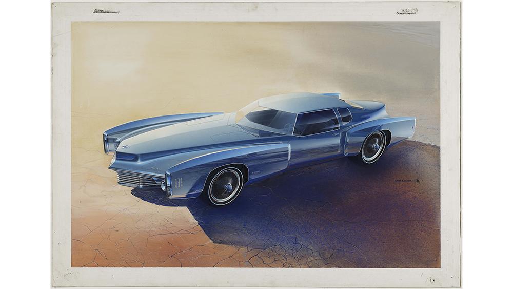 Roger Hughet's Toronado Proposal, 1968