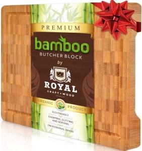 Royal Craft Wood Bamboo Butcher Block