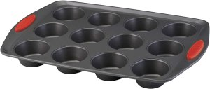 Rachael Ray Yum-o! Nonstick Bakeware 12-Cup Muffin Tin