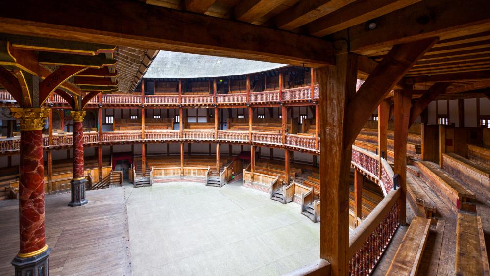 Globe Theatre interior