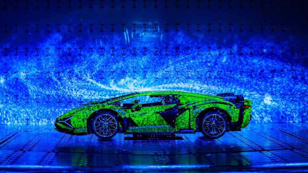Lego Technics Lamborghini Sián FKP 37
