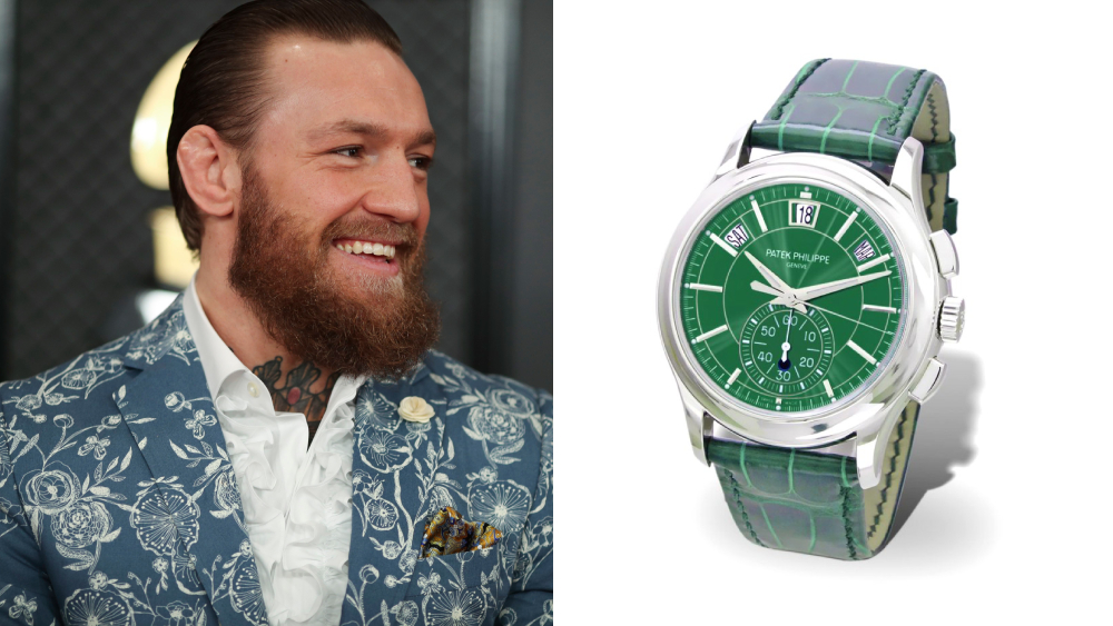 Conor Mcgregor Buys An Ultra Rare Patek Philippe Watch For 100 000 Robb Report