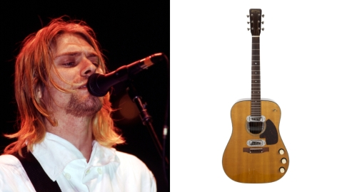 Kurt Cobain MTV guitar auction