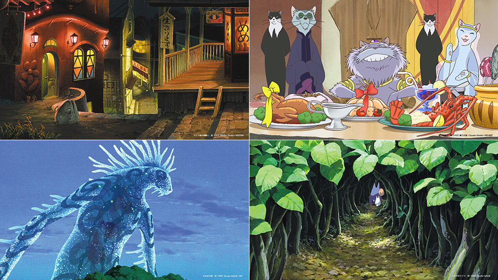 Zoom backgrounds from Studio Ghibli