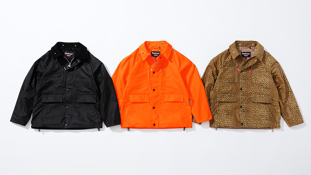 Supreme Barbour Spring Collab