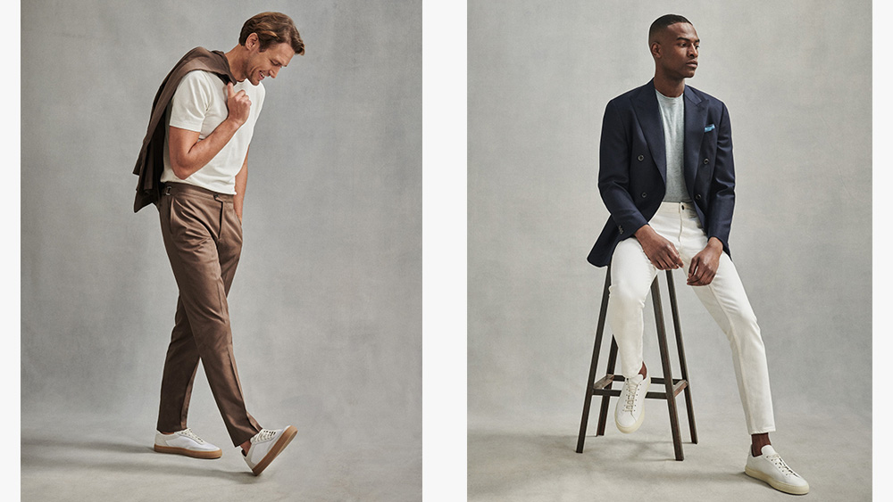 Two looks from Them Sweeney's Spring/Summer collection