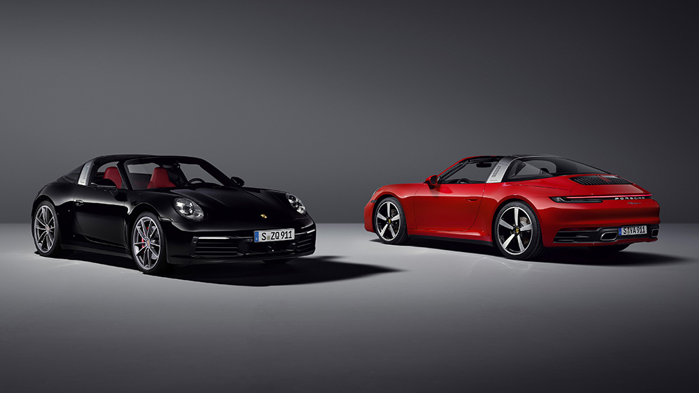 Porsche 992-generation 911 Targa 4 and 4S