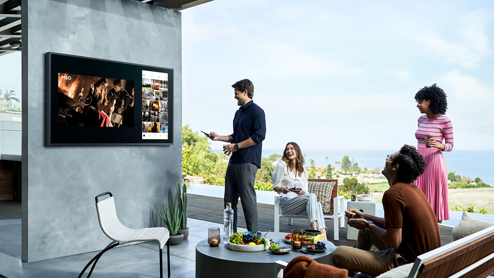 The Samsung Terrace 4K QLED TV