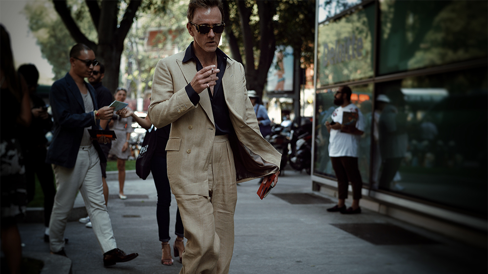 Tom Stubbs, the recently appointed Savile Row Attaché.
