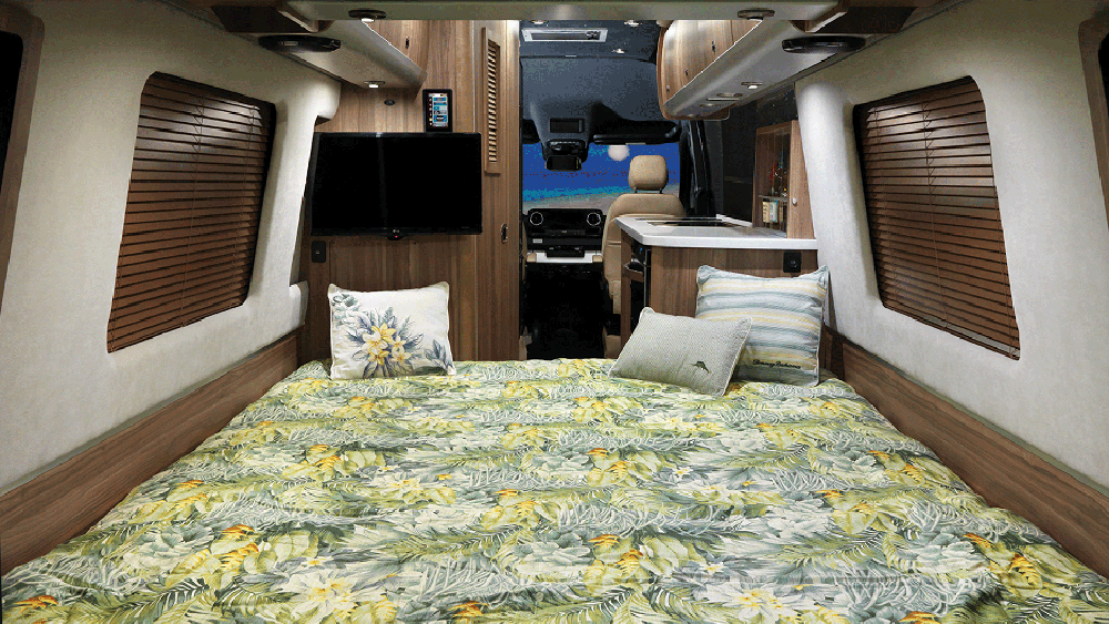 Inside the Airstream Tommy Bahama Relax Edition