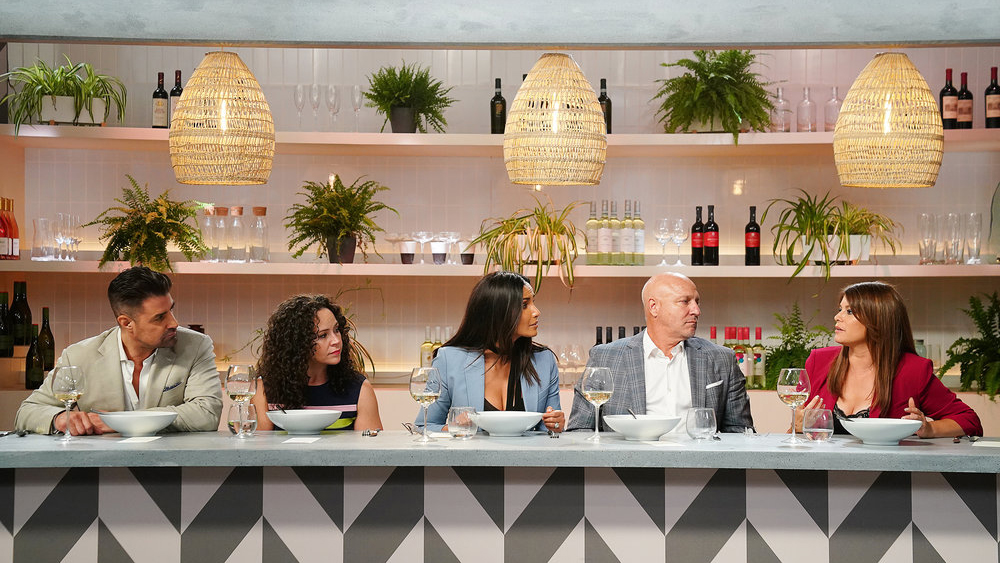 Top Chef Episode 7 judges table