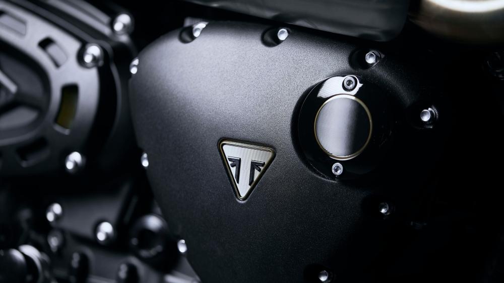 Triumph Scrambler 1200 Bond motorcycle