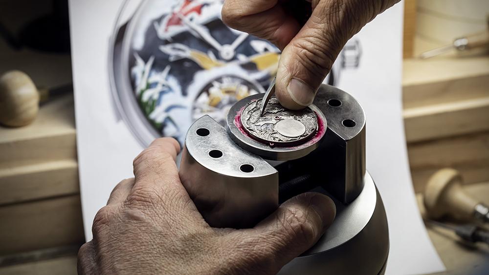 Vacheron Constantin Tourbillon High-Jewelry watch 2260 caliber