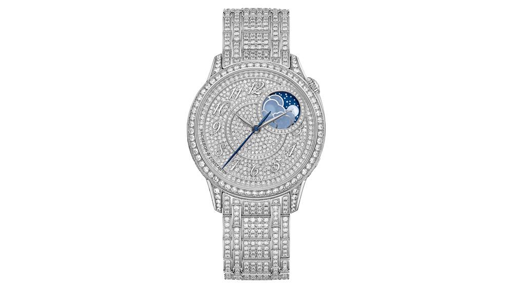 Vacheron Constantin Egérie Moon Phase Jewelry Timepiece