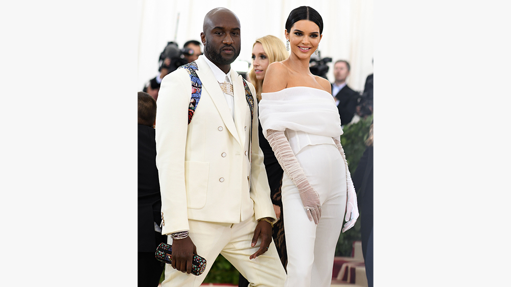 Virgil Abloh, Kendall JennerThe Metropolitan Museum of Art's Costume Institute Benefit celebrating the opening of Heavenly Bodies: Fashion and the Catholic Imagination, Arrivals, New York, USA - 07 May 2018