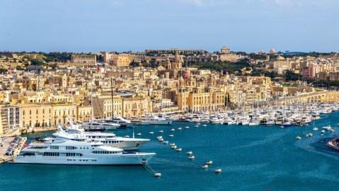 VistaJet private jet yacht Malta