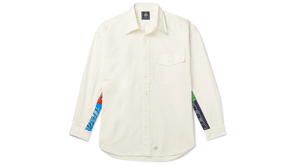 J. Press Japan's bandana-detailed Oxford shirt, $270.