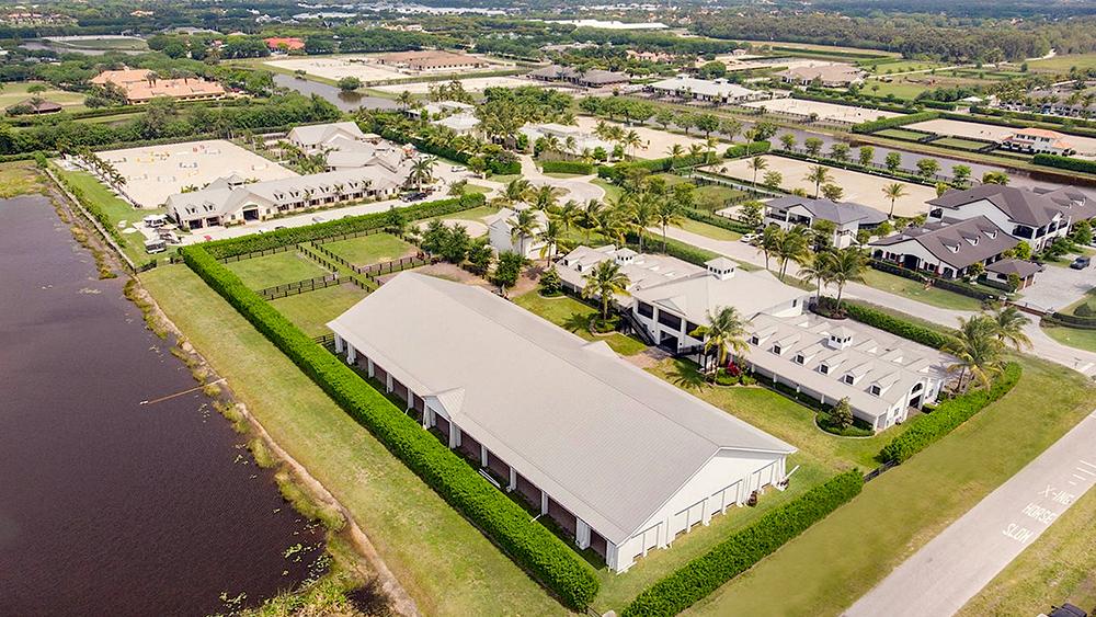 Wellington, Florida equestrian center
