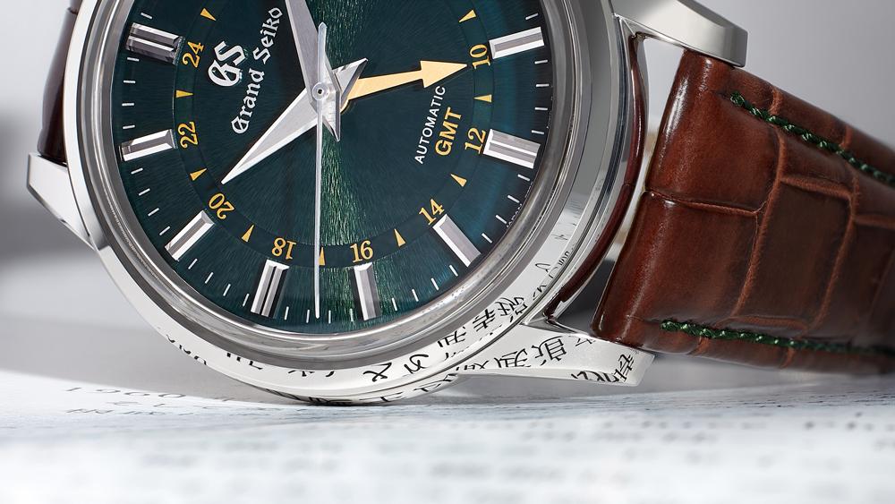 Grand Seiko x Watches of Switzerland Toge Zaratsu Finish Reflection