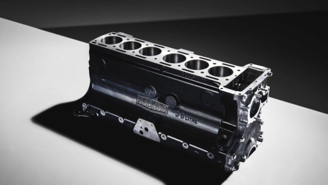 Jaguar Classic's new block for the automaker's 3.8-liter XK engine.