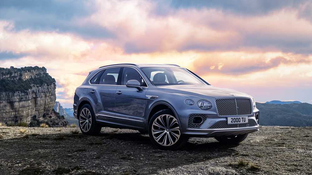 The 2021 Bentley Bentayga.