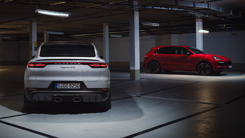 The 2021 Porsche Cayenne GTS Coupe and Cayenne GTS.