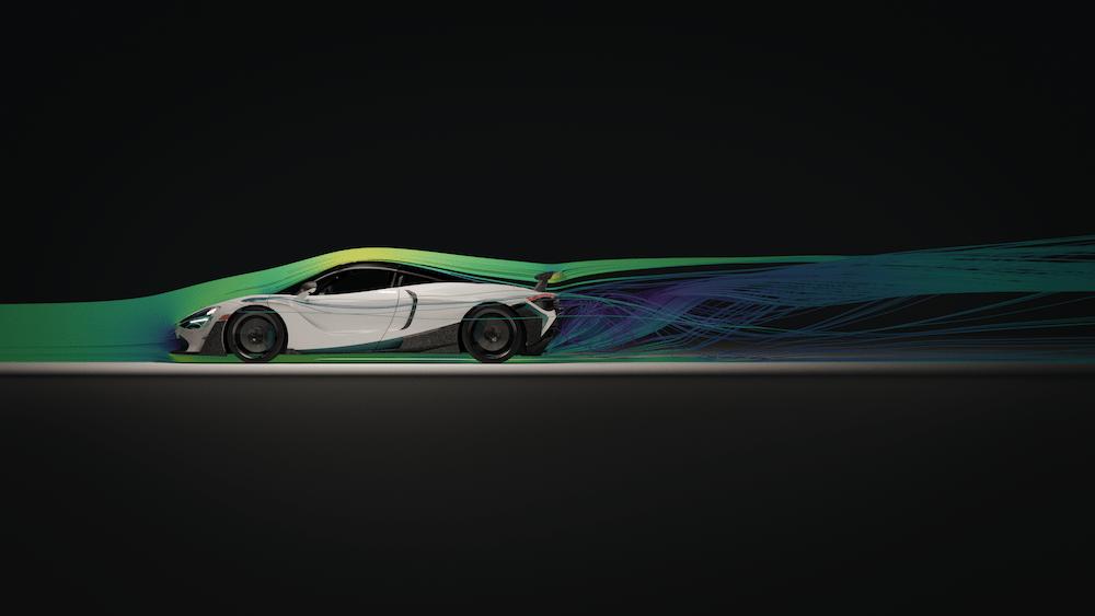 1016 Industries 3D-printed McLaren