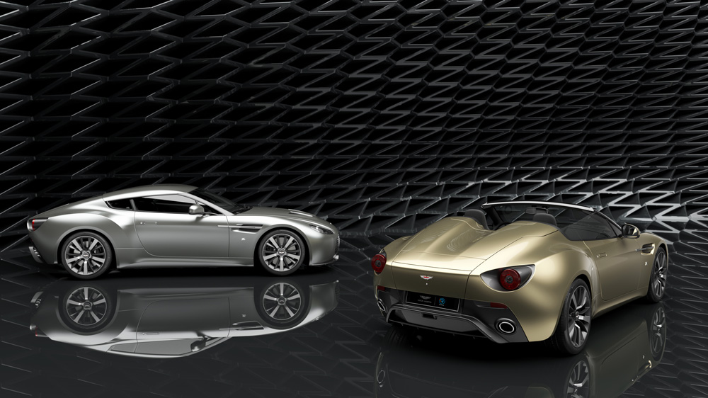 The Vantage V12 Zagato Heritage Twins.