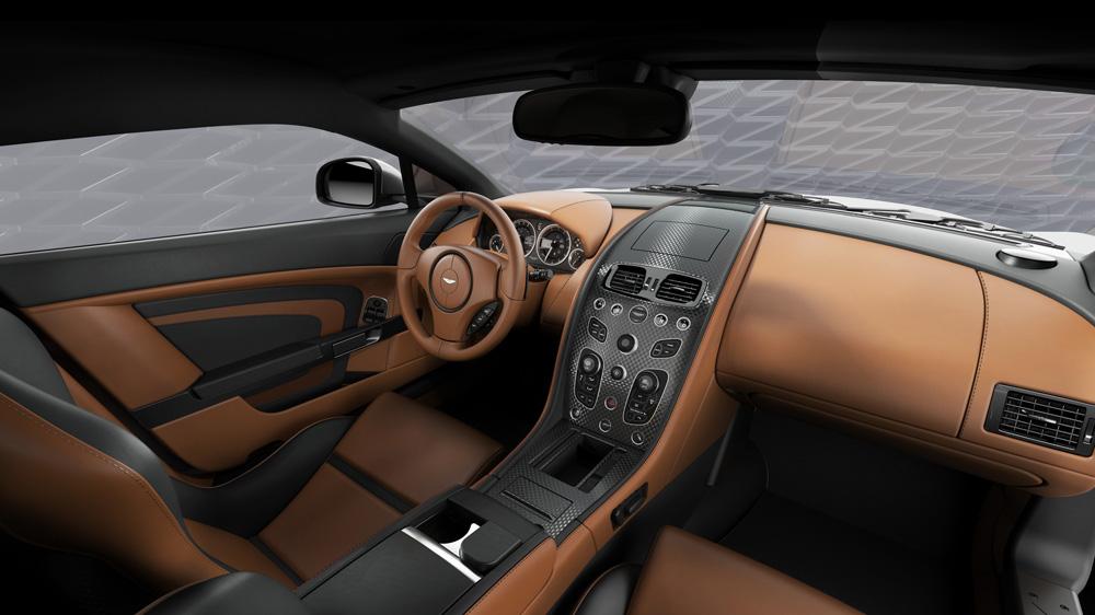 Inside the Vantage V12 Zagato Heritage Coupé.