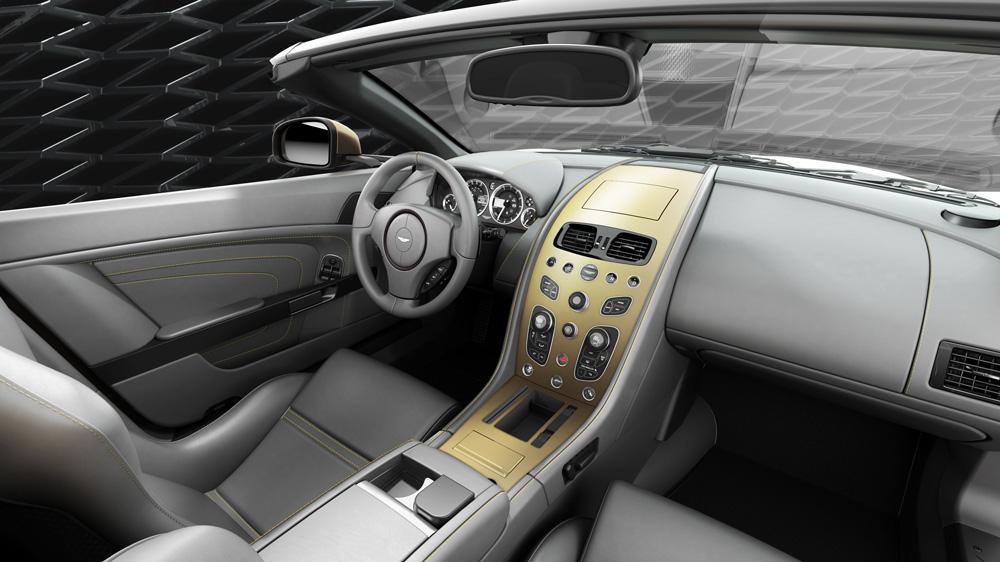 Inside the Vantage V12 Zagato Heritage Speedster.