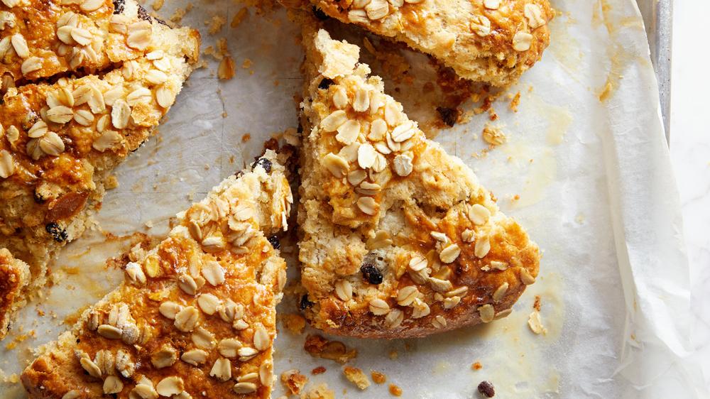 oat spelt scones