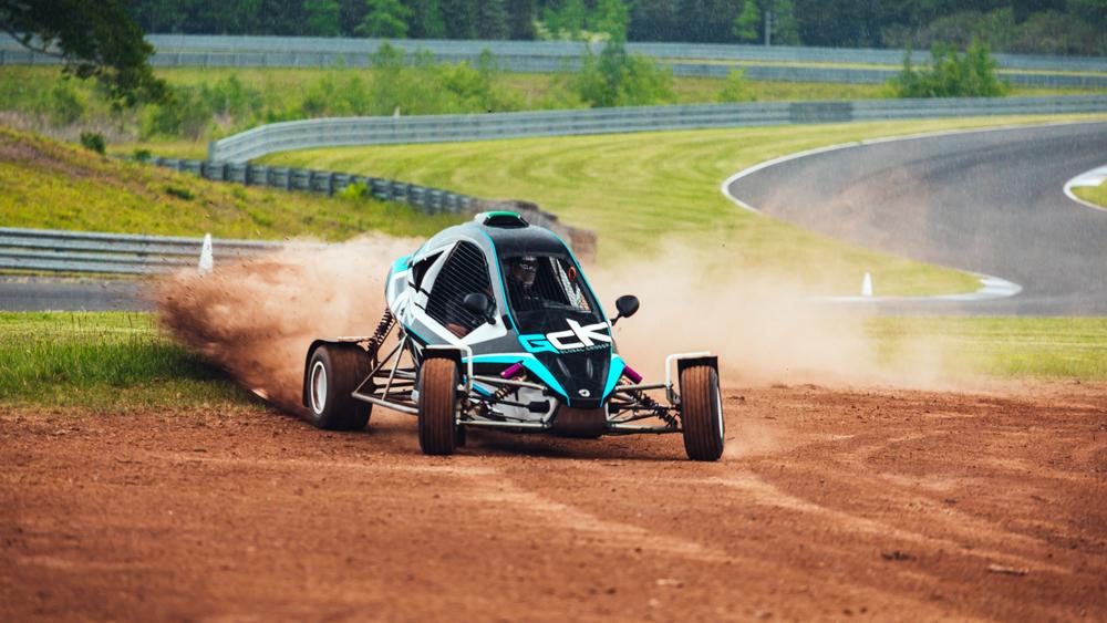 Crosskart racing at Monticello Motor Club.