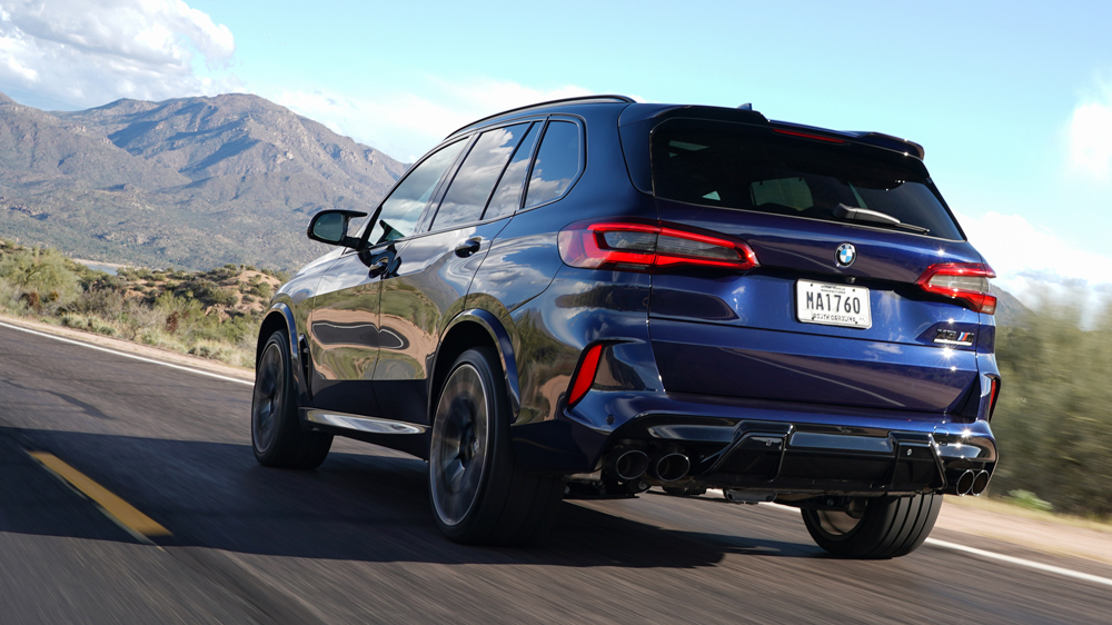The 2020 BMW X5 M Competition.