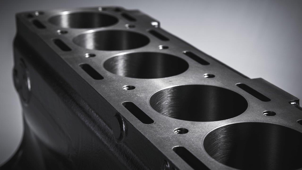 Jaguar Classic's new block for the automaker's 3.8-liter XK engine.