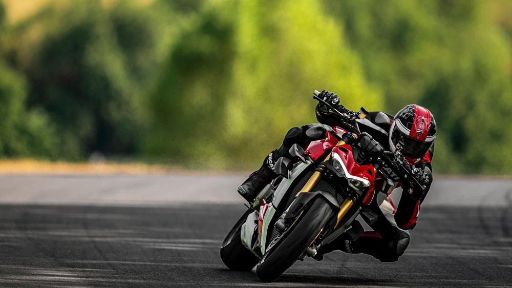 The 2020 Ducati Streetfighter V4 S.