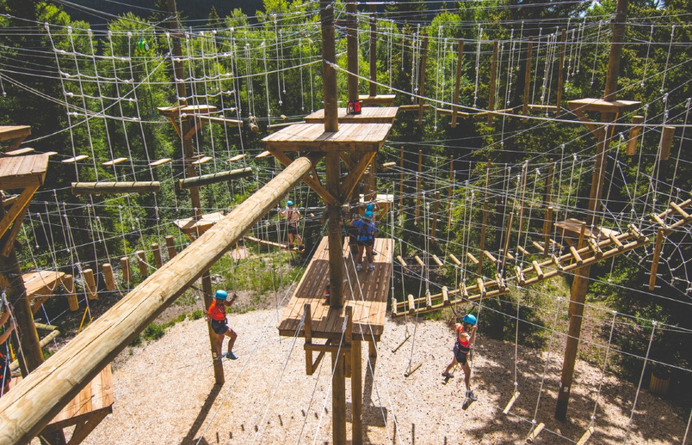 ropes course summer camp