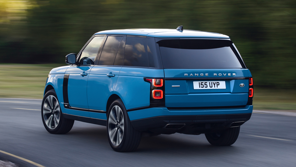 The special-edition Range Rover Fifty.