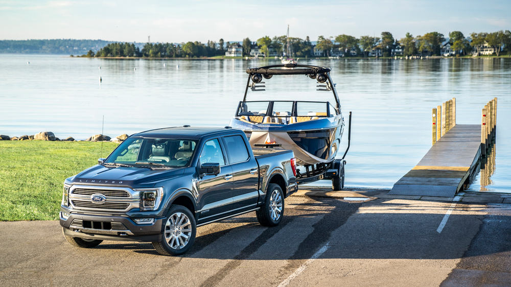 The 2021 Ford F-150 Limited.