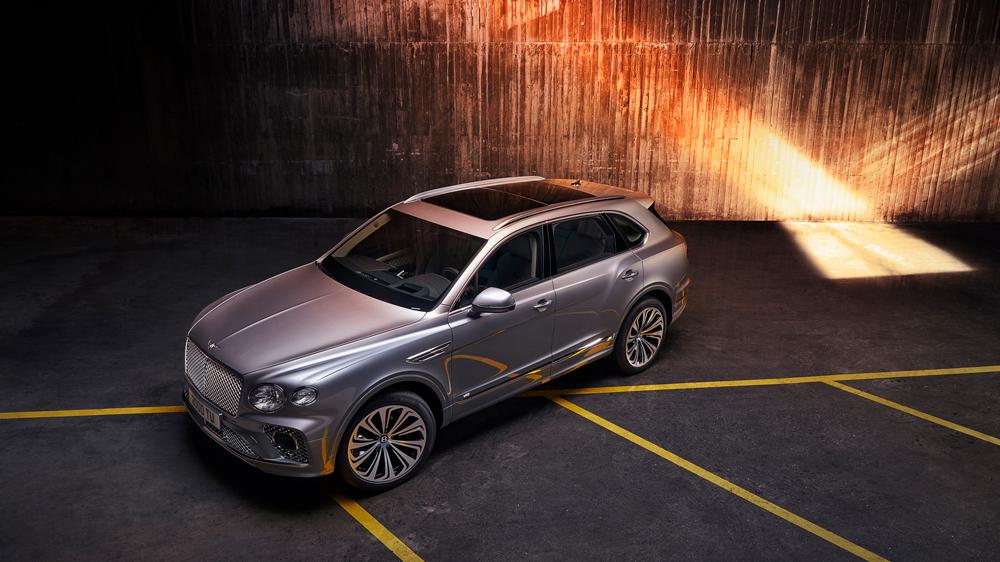 The 2021 Bentley Bentayga.