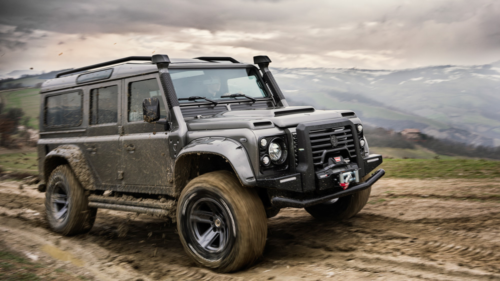 Ares Design's interpretation of the Land Rover Defender.